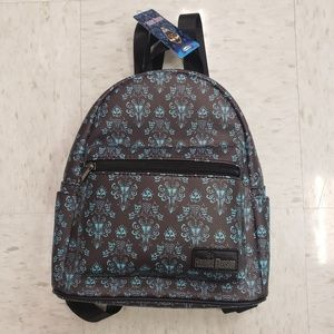 Loungefly Disney Haunted Mansion Mini Backpack